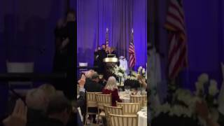 Jonathan Cahn speaks at the Trump Presidential Inauguration Prayer Breakfast
