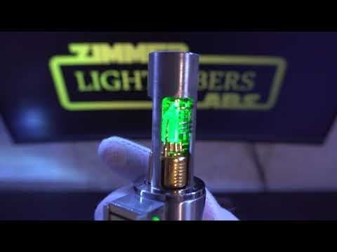 Ronnie's Korbanth LS6 Neopixel Teensysaber W Grenade Section Crystal Reveal
