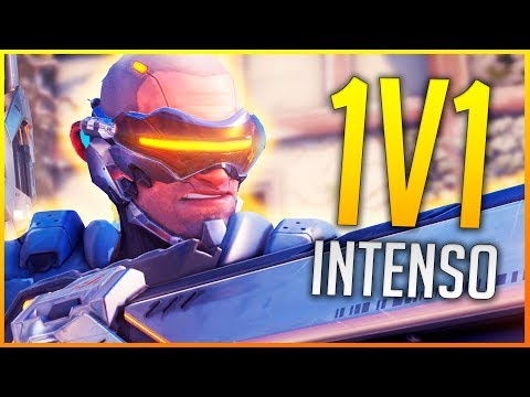 OVERWATCH: 1V1 INTENSO Y SORTEO 300.000 SUBS | Makina