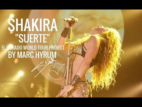 "Shakira ""Interlude BachueSuerte"" El Dorado World Tour Project  DVD BONUS TRACK"