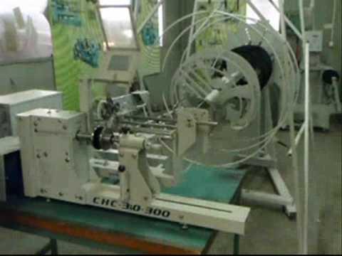 видео: намоточный станок СНС-3.0-400