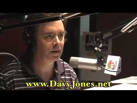 Davy Jones Visits Our Studio!!