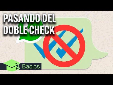 WHATSAPP: DESCUBRE CUANDO TE HAN LEÍDO INCLUSO SIN DOBLE CHECK AZUL!!