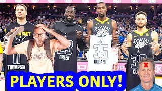 GOLDEN STATE SPAZZES WITHOUT STEVE KERR?! WARRIORS VS SUNS {DUBNATION HIGHLIGHT REACTION}