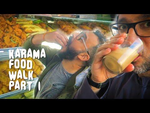 UNREAL Asian FOOD WALK In KARAMA Dubai