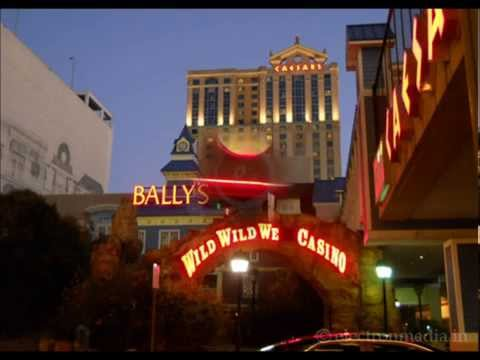 Atlantic City Hotels in Night View