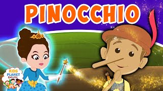 Pinocchio - Fairy Tales In English | Bedtime Stories | English Cartoon For Kids | Fairy Tales