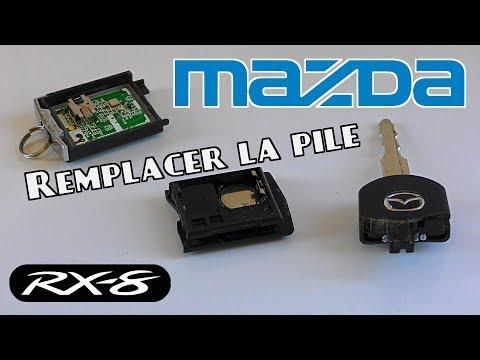 Comment changer la pile d'une clef de MAZDA RX8