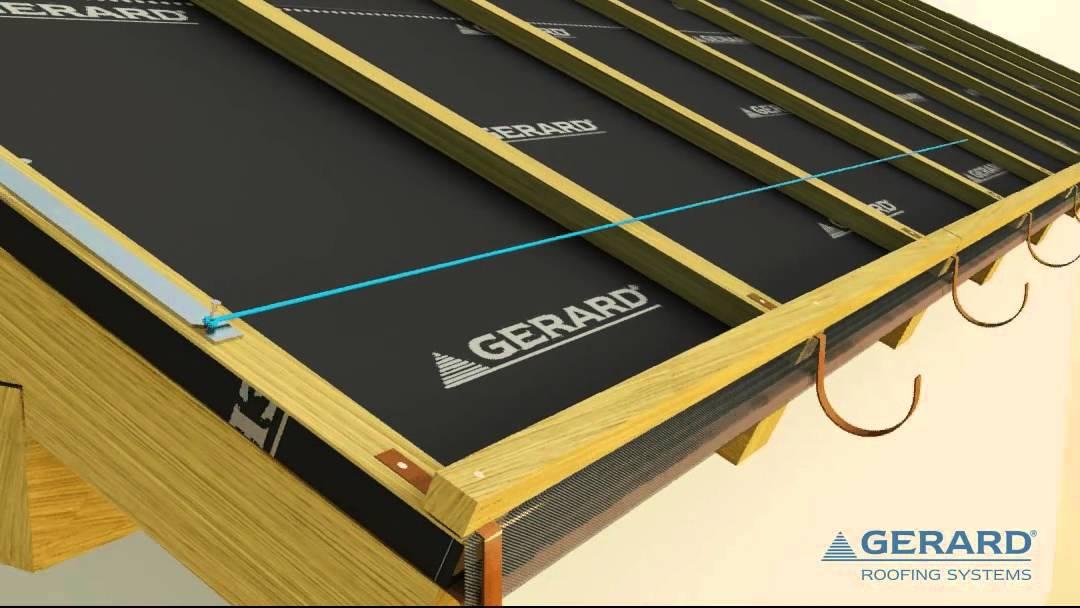 Montaz plechovej strechy video
