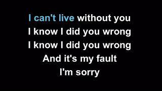 Sorry - Joel Corry | Karaoke