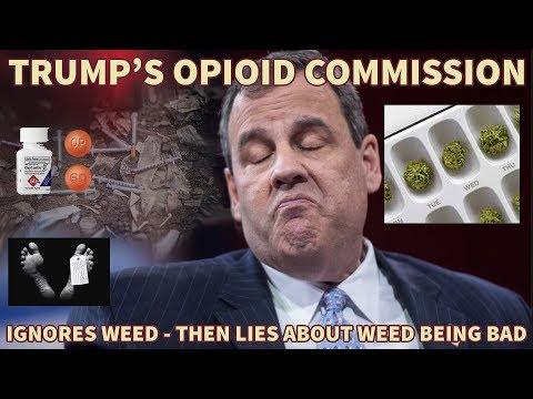 Trump's Opioid Commission throws Marijuana under the Bus