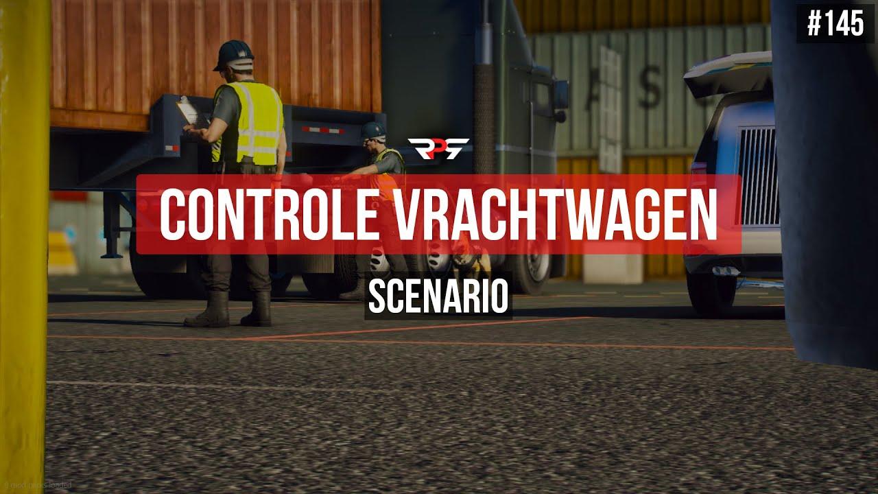 CONTROLE VAN EEN VRACHTWAGEN - GTA 5 ROLEPLAY