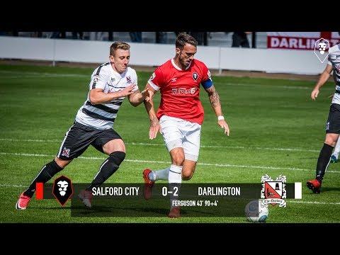 Salford 0-2 Darlington - National League North 05/08