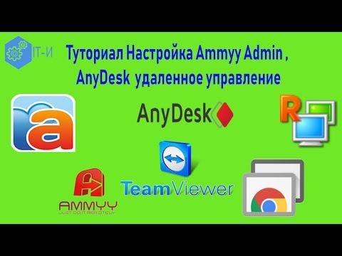 Как Настроить Ammyy Admin, AnyDesk удаленное управление