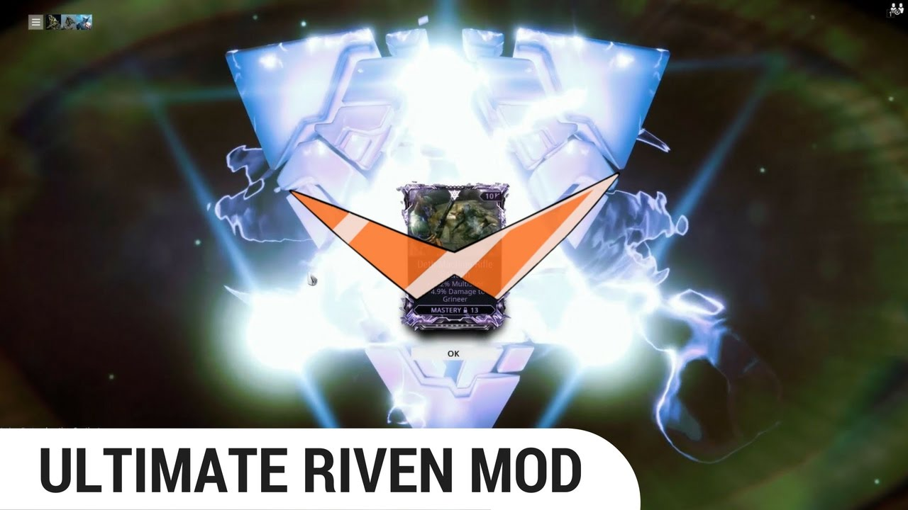 [Warframe] the True Power of RIVEN MODS