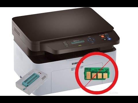 Как прошить принтер