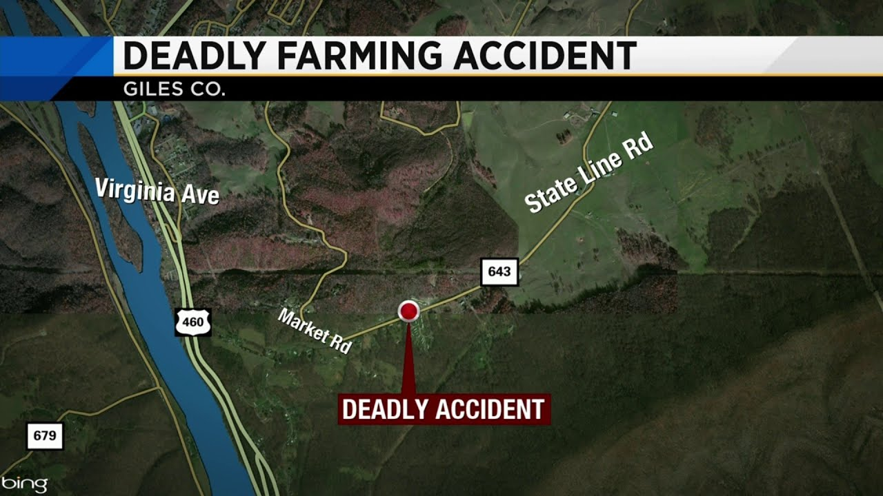 Person dies after falling into hay baler in Giles County