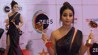 hot Hina Khan At  Indian Telly Awards 2019   Full Video thumbnail