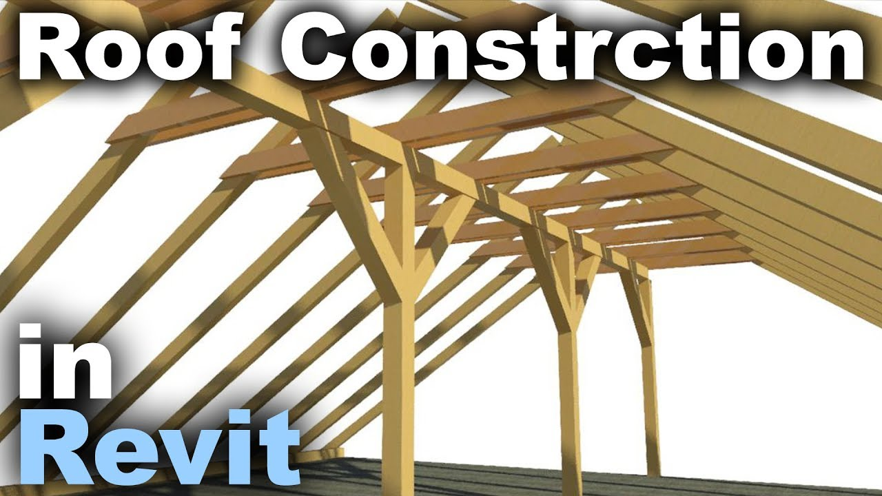 Traditional Roof Construction N Revit Tutorial Youtube
