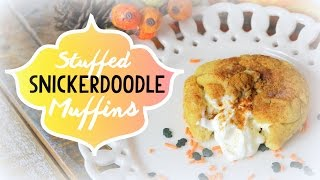 Stuffed Snickerdoodle Muffins | Cheap Clean Eats