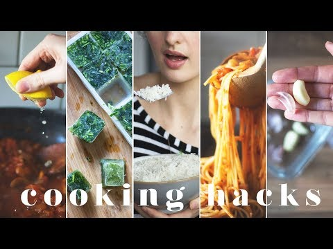 15 COOKING HACKS & TIPS FOR BEGINNERS IN THE KITCHEN