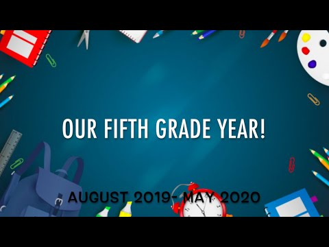 Our Fifth Grade Year- Shoreview Elementary School 2019-2020