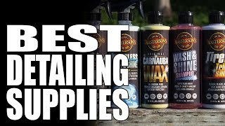 Masterson's Car Care | Best Detailing Supplies | Made In Usa