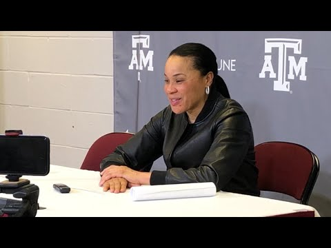 POSTGAME: Dawn Staley on Texas A&M — 1/3/19