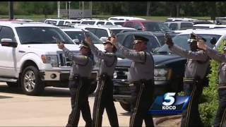 Police honor fallen K-9 unit