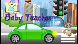 Driving In My Car Song | Nursery Rhymes | From Baby Teacher