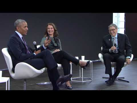 A Conversation with Barack Obama, Bill Gates and Melinda Gates #GOALKEEPERS17