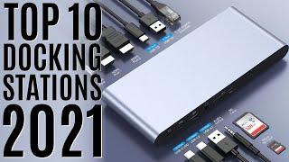 Top 10: Best Universal Docking Stations of 2021 / Thunderbolt / Usb-C Hub for MacBook, Laptop, iPad
