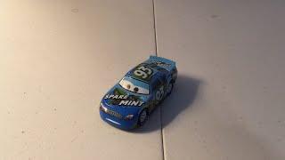 Disney Pixar cars 3 Ernie Gearson diecast review