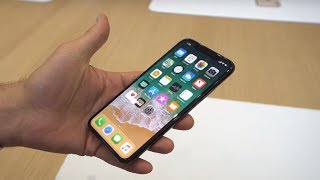 iPhone X hands-on Live  Apple Event 2017