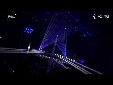 170408 Special Stage Yin Yue Tai VChart Award - Winwin (NCT 127), Sally (gugudan)