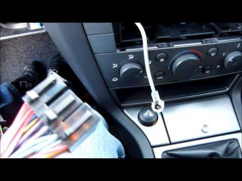 Parrot MKi9000 & 2002 Vaxuhall Vectra C Installation