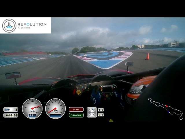 Revolution Race Cars Paul Ricard JB SCHEIER 2:08.59