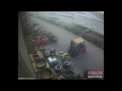 Warehouse Forklift Thief Arrested - Industrial Security