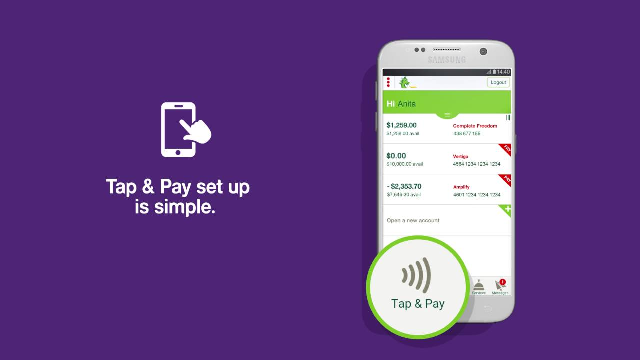 How to use 'Tap & Pay'