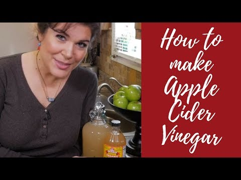 How to make Homemade Apple Cider Vinegar 'with the Mother' - DIY Prepsteading