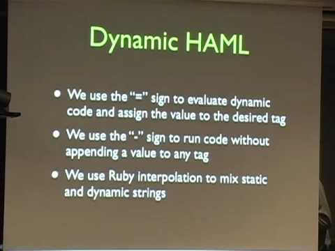 pyweb-il-22 HAML and other HTML compilers by  Zohar Arad