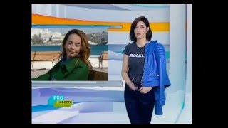 МУЗ ТВ о съемках клипа