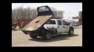Pierce Flatbed Dump Kit Installation