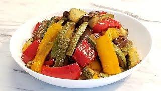 овощи запечённые в маринаде.Невероятно вкусно