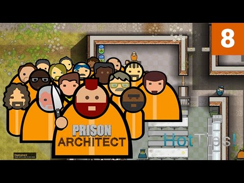 Prison Architect 2.0 - Ep 08 - Going Into Debt - Let's Play