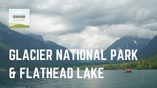 Ep. 47: Glacier National Park and Flathead Lake | RV travel Montana camping