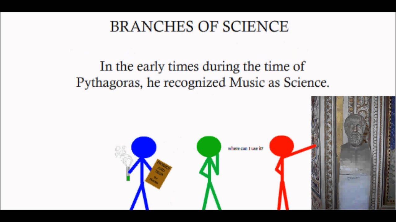 what are the branches of science