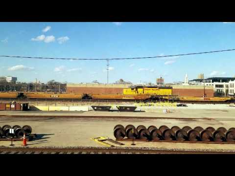 """Crossing the """"Land of Lincoln"""" on the Southwest Chief"""