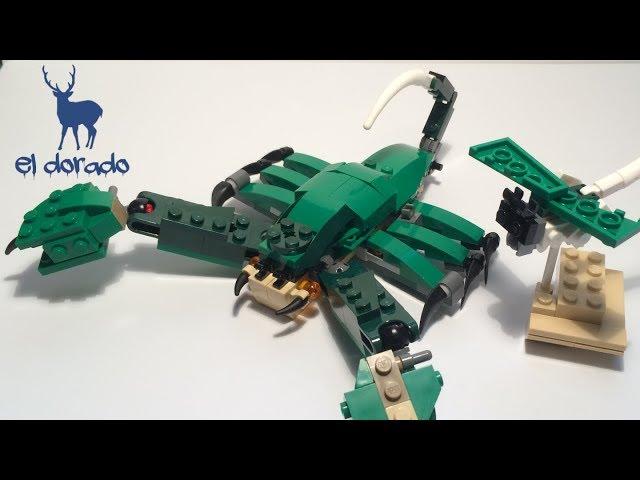LEGO CREATOR 31058 Alternative - Scorpion Construction in Mighty Dinosaurs / ??  /el dorado