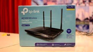 TP Link AC1200 Gigabit Router Unboxing & Overview